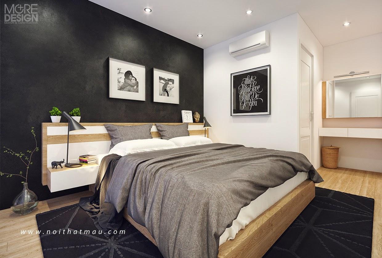 Phòng ngủ đẹp với thiết kế nội thất cá tính