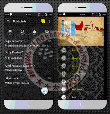 BBM2 Mod Tema Batik Nusantara Terbaru v2.10.0.31 Apk Clone