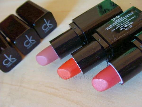 calvin klein pink lipstick