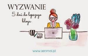 Blogowe wyzwanie