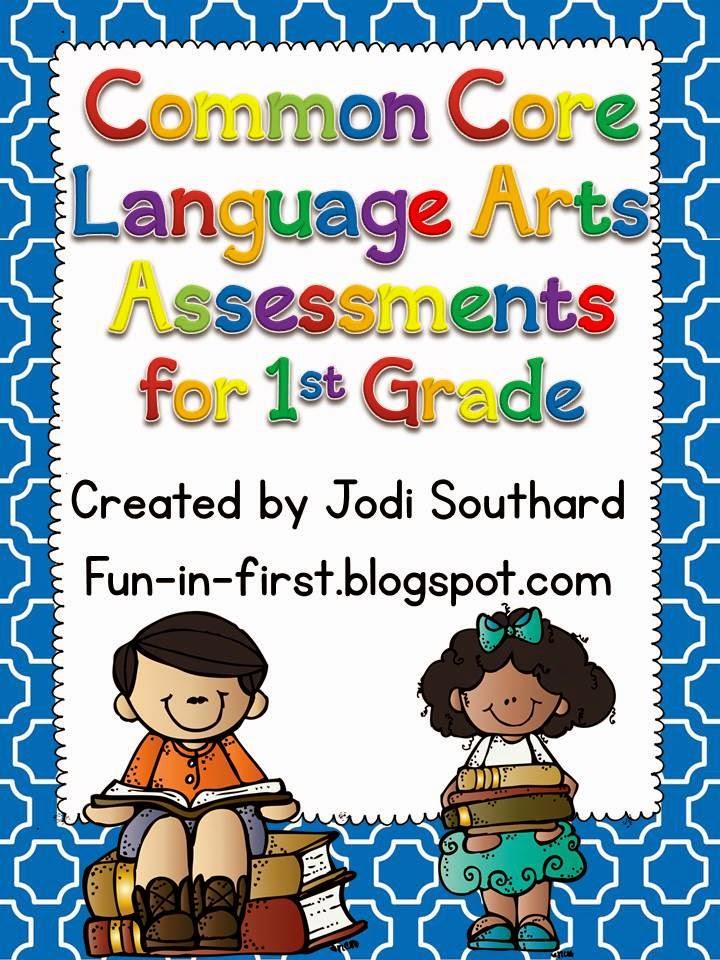 http://www.teacherspayteachers.com/Product/Common-Core-Language-Arts-Assessments-for-1st-Grade-274593