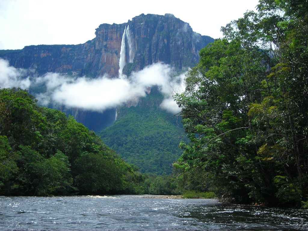 The falls are one of venezuela s top tourist attractions