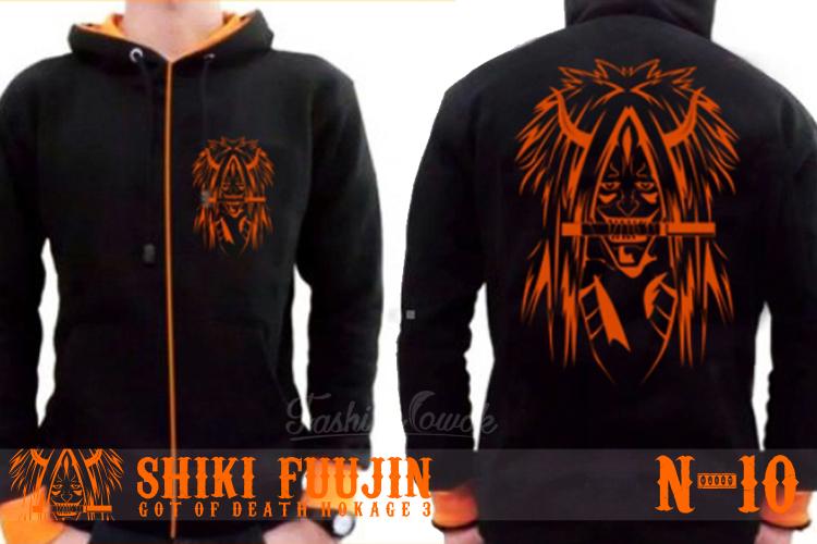 FASHION COWOK | Toko Jaket Online | Jaket Crows Zero | Jaket Korean Style | jual murah Jaket Anime Naruto 'Dewa Kematian' Shiki Fuujin | Jaket National Geographic