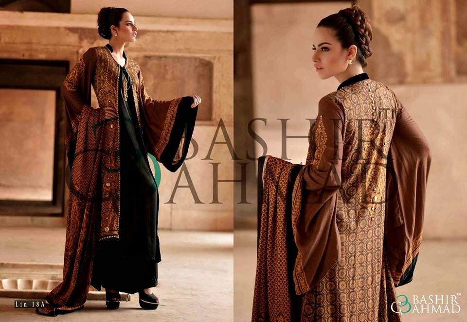 BashirAhmedLinen2013 14 wwwfashionhuntworldblogspotcom 016 - Bashir Ahmed Linen Dresses 2013 / 2014