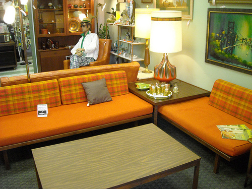 Mid Century Danish Modern Couch Sectional Sofa Set