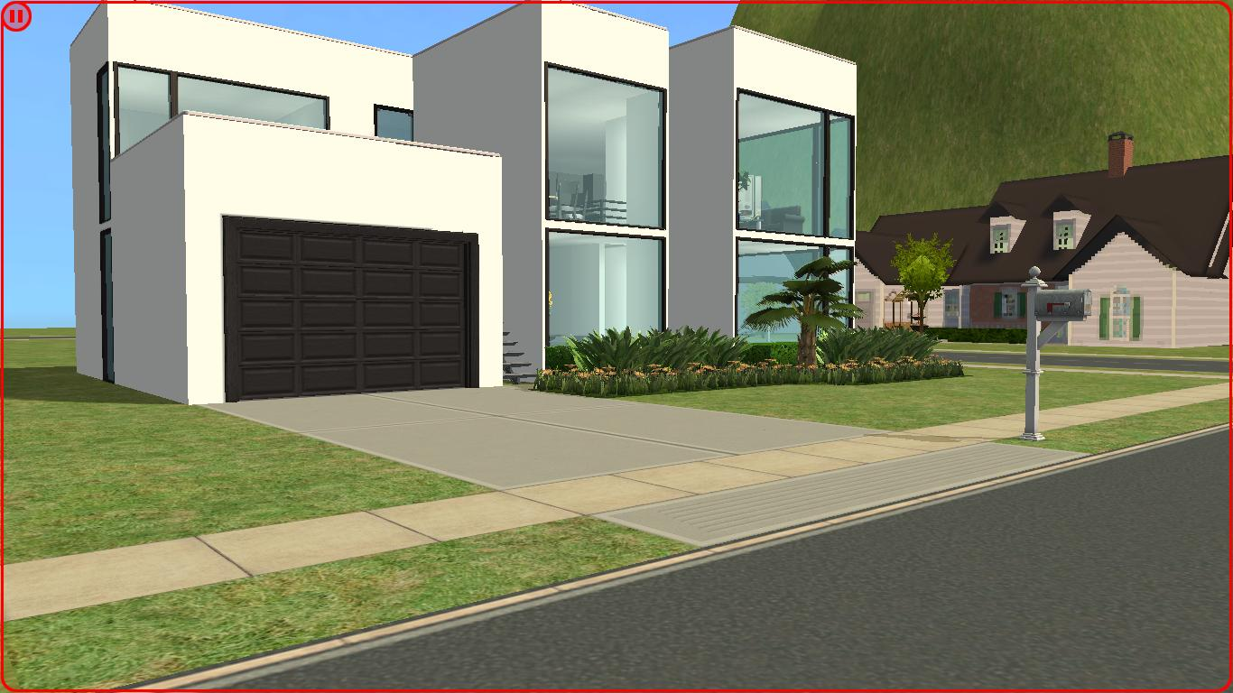This is the first home of my first series all of the homes are going to be modern this particular one is a 2 bedroom 2 bathroom 2 story house