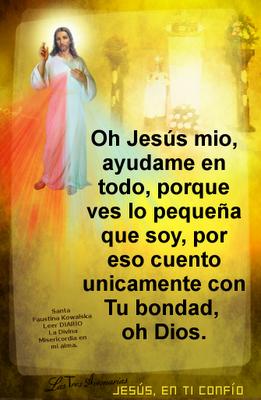 oracion a jesus para pedir ayuda original diario la divina misericordia