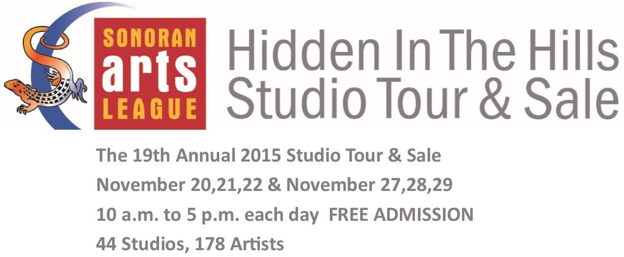Hidden in the Hills Artist Studio Tour
