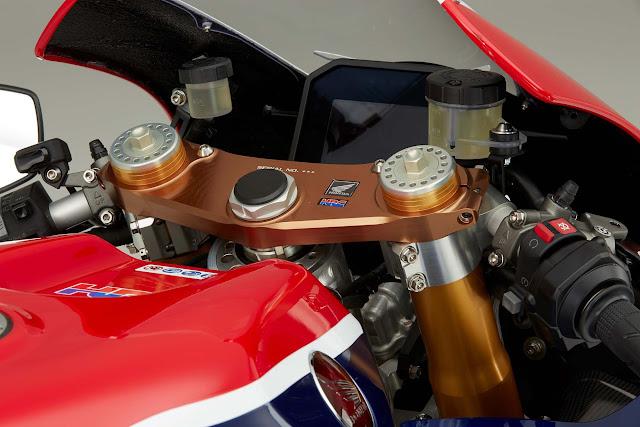 Honda RC213V-S Cockpit
