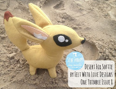 Desert Fox Softie - One Thimble 8