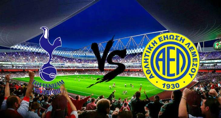 Tottenham Hotspur vs AEL