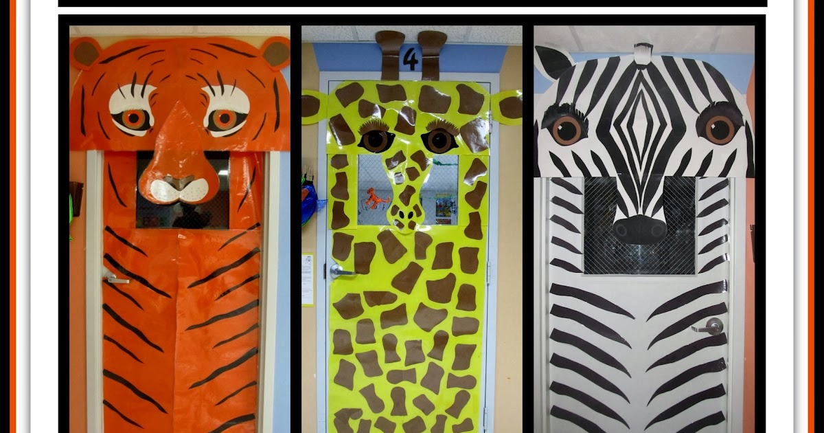 Classroom Door Ideas Jungle ~ Rainbowswithinreach spot