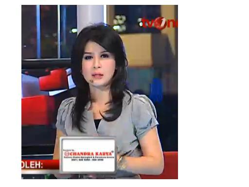 presenter cantik tv one rie inspirasi imut banget presenter tv one ini ...