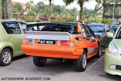 Rally style Proton Saga