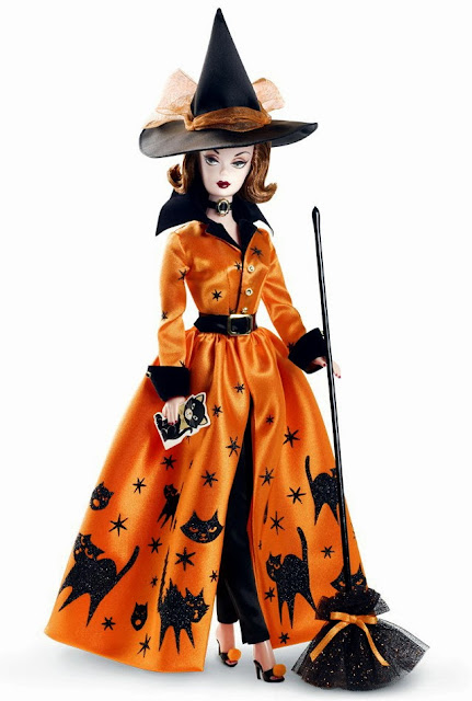 Фото Барби на Хэллоуин