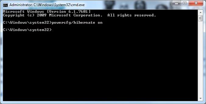 Windows 7 - Prompt de comando