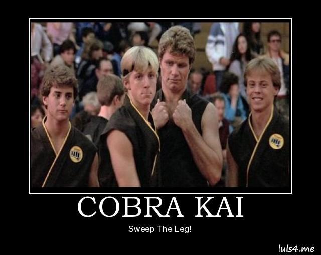 Leg Sweep Karate Kid