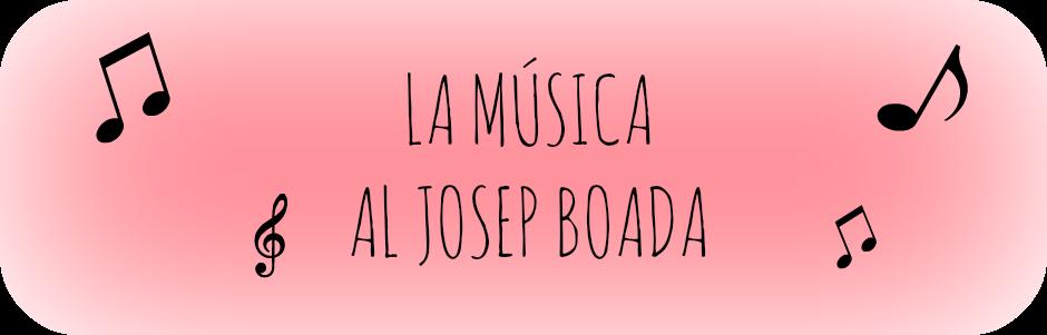 LA MÚSICA AL JOSEP BOADA