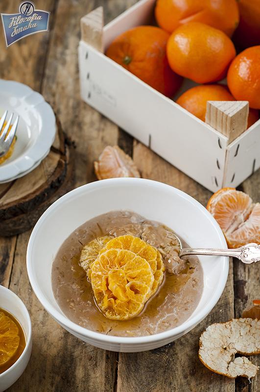 Karmelizowane mandarynki