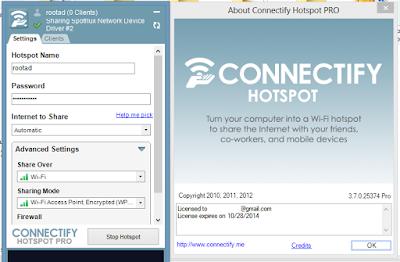 Connectify Hotspo