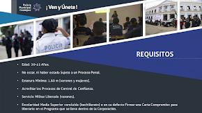CONVOCATORIA 2020 PARA INGRESAR A LA POLICÍA MUNICIPAL DE COATEPEC