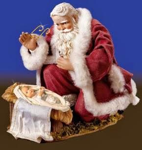 Papai Noel e o menino