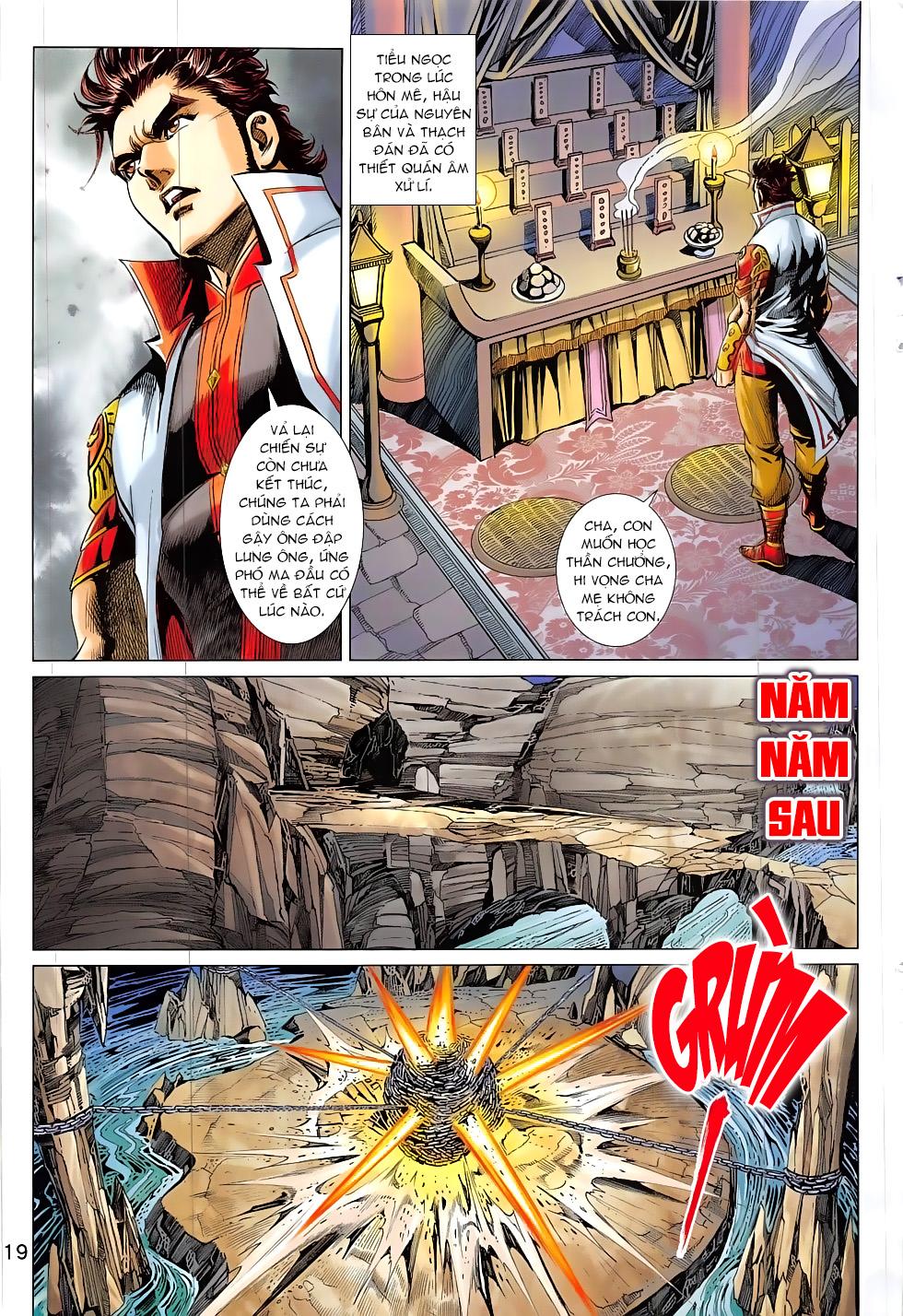 Thần Chưởng chap 24 – End Trang 19 - Mangak.info