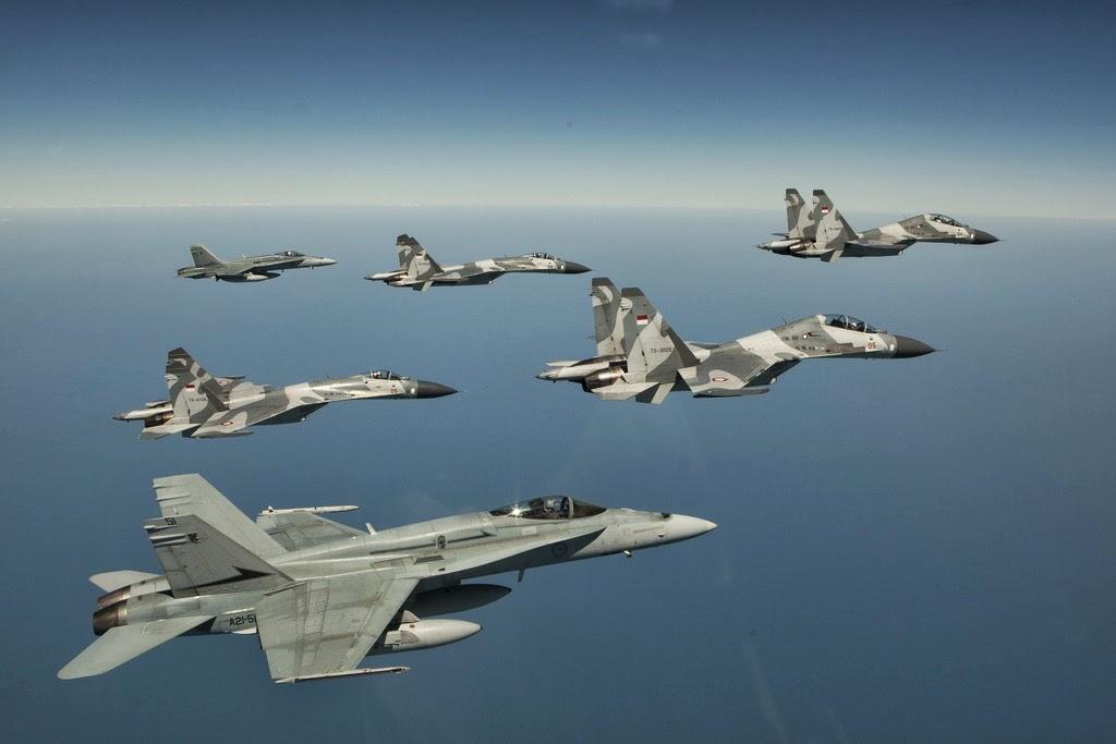 102 Pesawat Tempur akan Dibeli TNI AU Hingga 2024