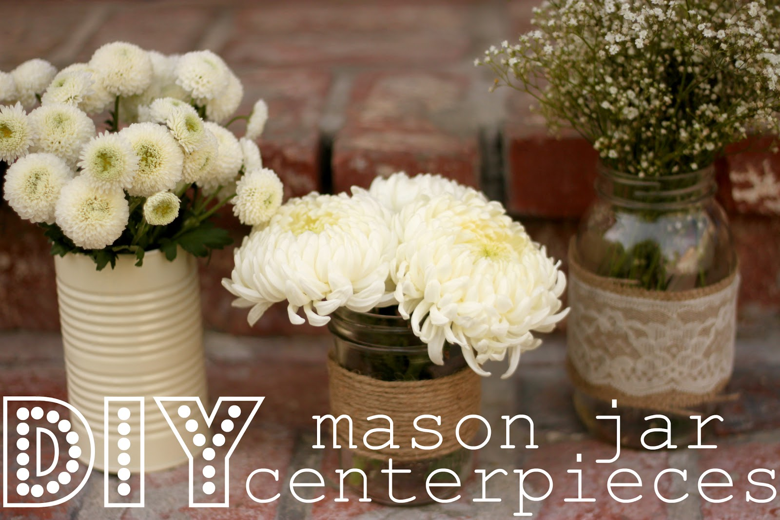 Domesticated Delight Wedding Planning Wednesday Diy Mason Jar