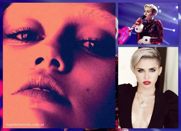 cortes de pelo 2014 look Miley Cyrus
