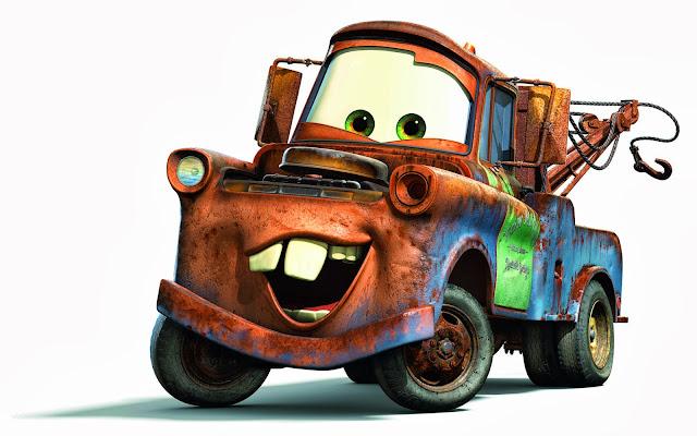 Carros da Disney desenho para colorir