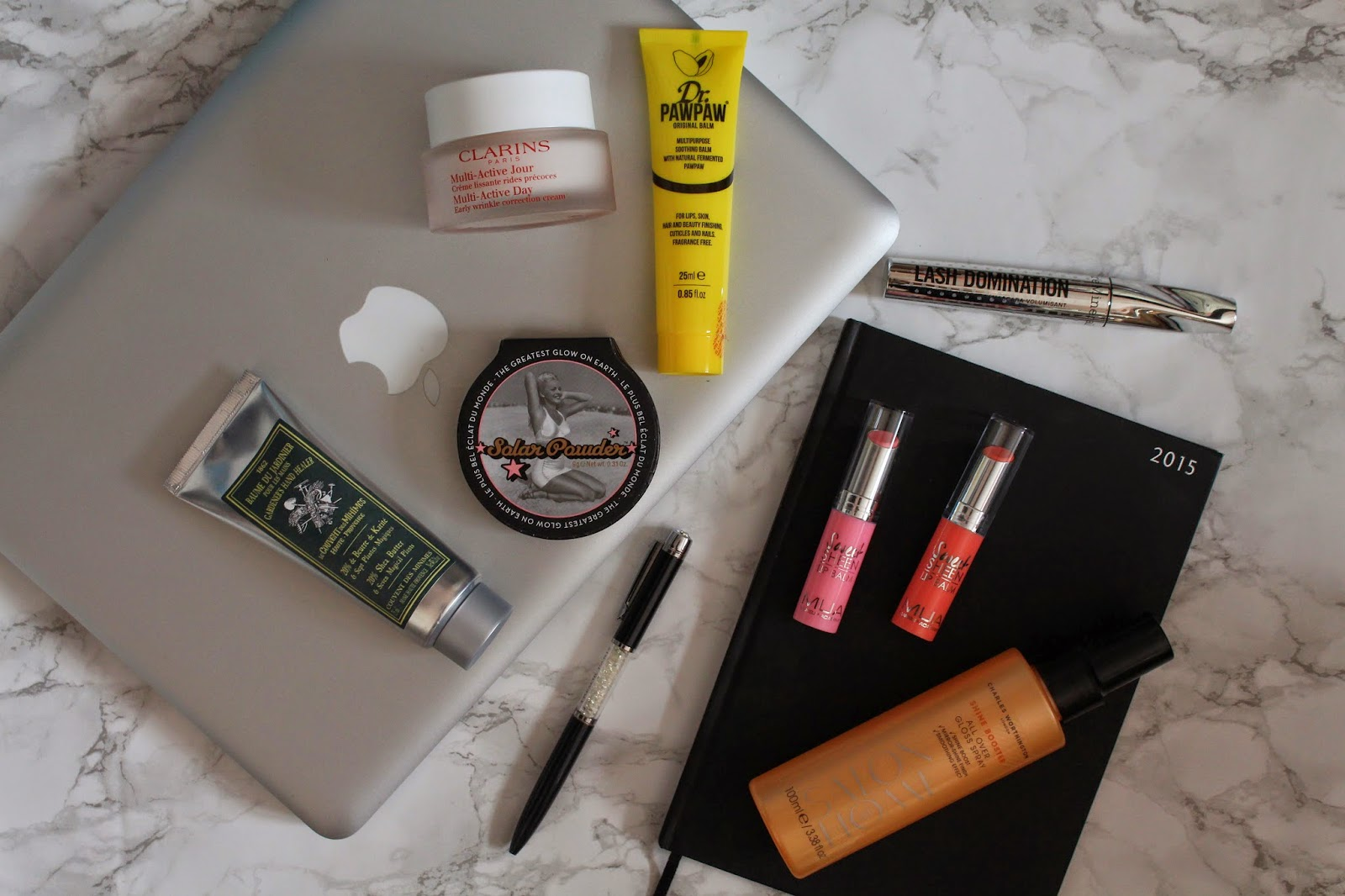 desk side beauty products