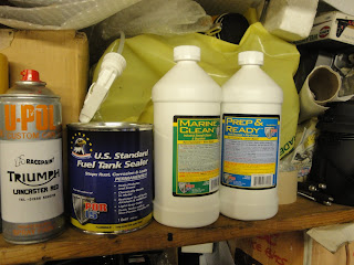 POR15 Tank Sealer, Degreaser and Rust Remover