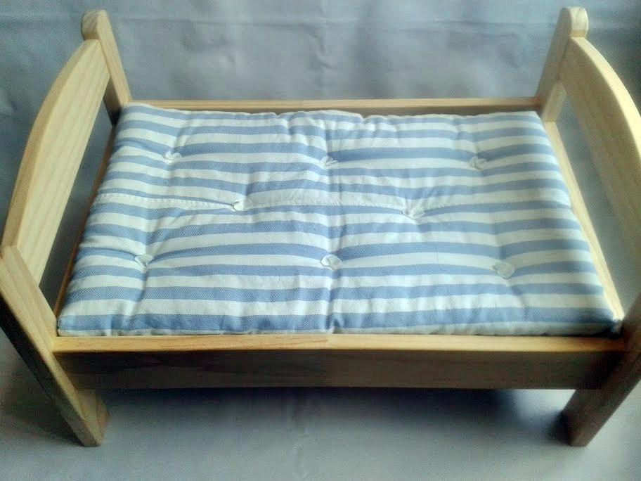 La cesta de caperucita por ana garcia una cama para una reina for Cama munecas ikea