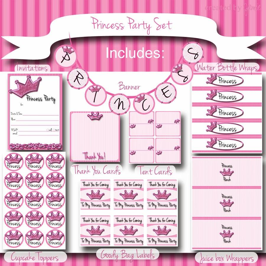 image regarding Princess Party Printable identified as My Modern Patterns: Princess Bash: Absolutely free Printable Preset