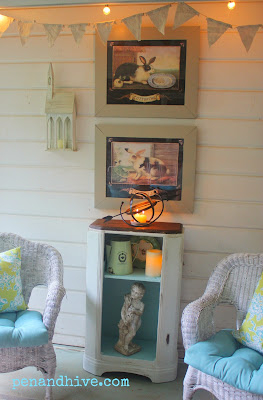 shabby chic backporch