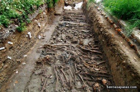 Timbunan tulang Di Pulau Poveglia