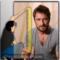 What is the height of Gerard Butler?