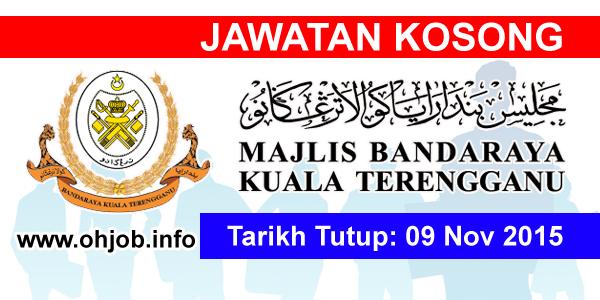 Jawatan Kerja Kosong Majlis Bandaraya Kuala Terengganu (MBKT) logo www.ohjob.info november 2015