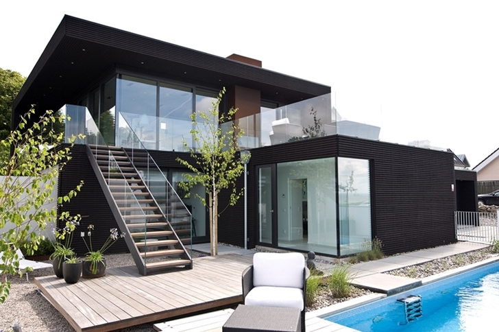 World of architecture modern beach house with minimalist for Contemporary beach house designs
