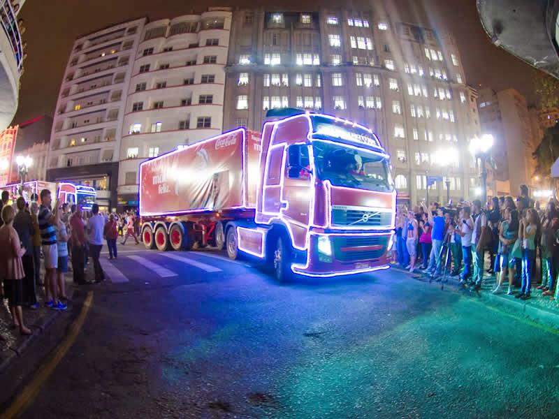 Coca-Cola FEMSA Brasil traz Caravana do Natal Encantado a São José do Rio Preto.