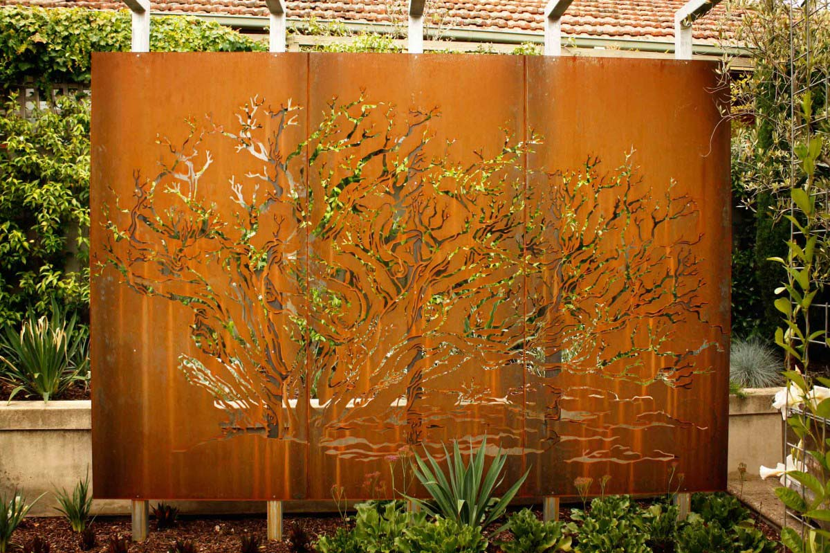 Decorative Metal Panels : Decorative perforated metal panels