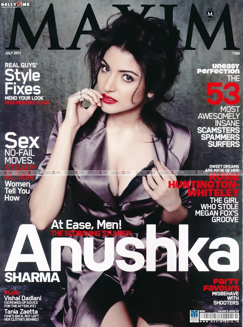 Anushka Sharma MAXIM Scans