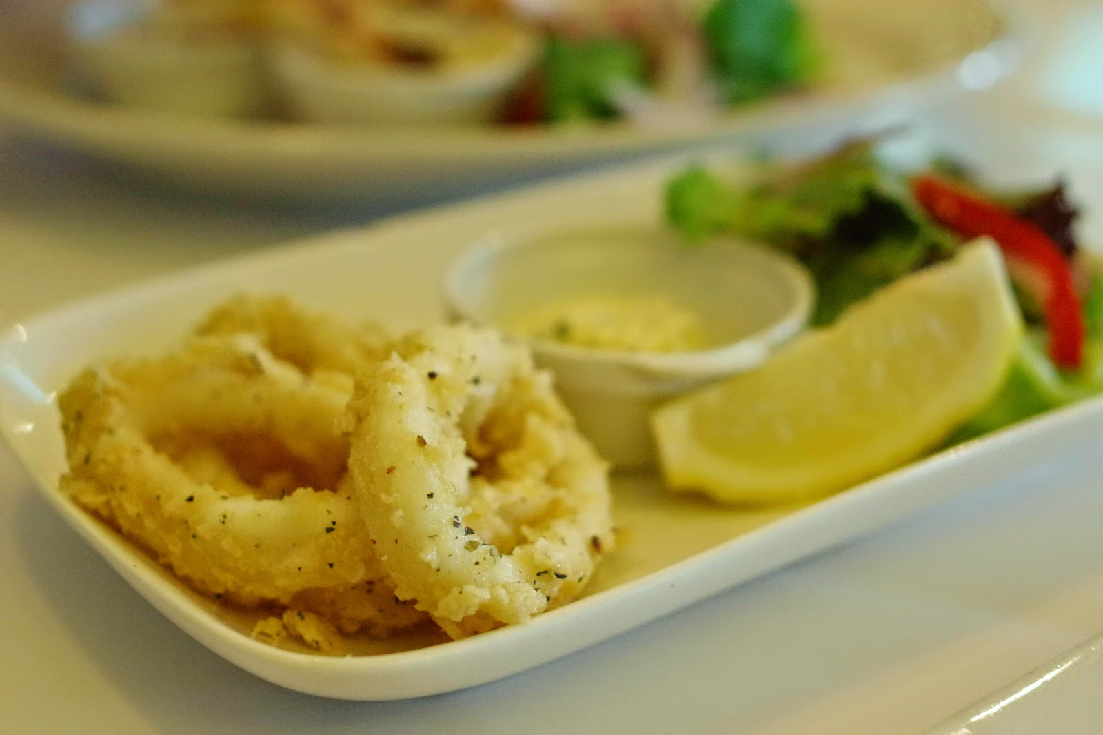 Image of salt and pepper squid
