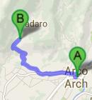 https://maps.google.fi/maps?saddr=Arco,+TN,+Italia&daddr=45%C2%B0+55%27+41%22+N++10%C2%B0+51%27+48%22+E&hl=fi&ie=UTF8&ll=45.947092,10.905647&spn=0.165194,0.396538&sll=45.927692,10.875006&sspn=0.020657,0.049567&geocode=FaWmvAIdyBmmACmvNcRcVhGCRzGRnQM9NdrWvA%3BFXjOvAId5cKlAA&dirflg=w&mra=ls&t=m&z=12