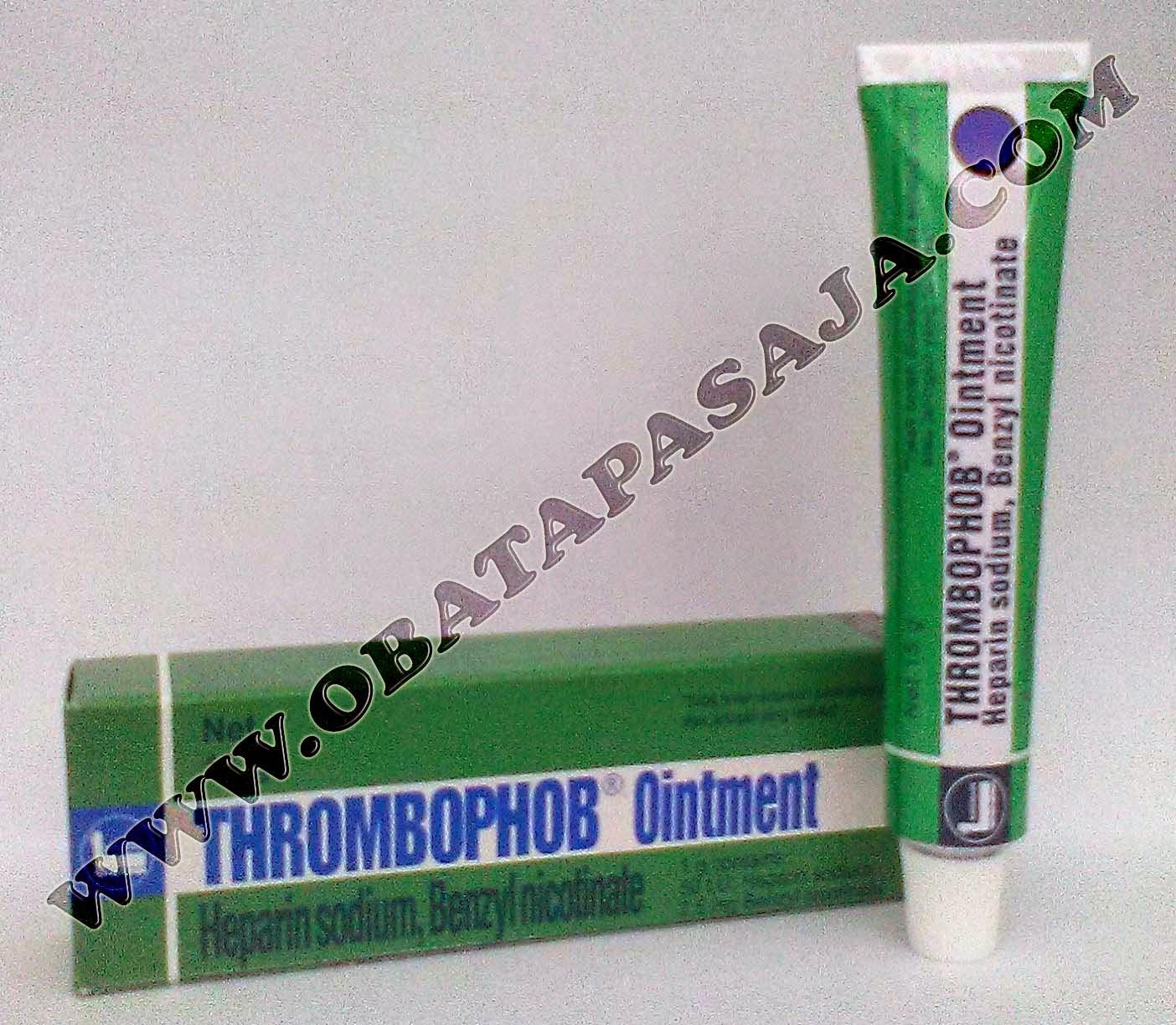 Komposisi  Harga dan Cara Pemakaian Thrombophob Ointment (Salep)