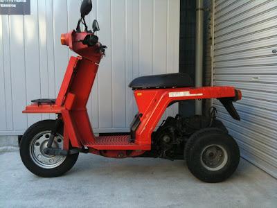 ホンダ ジャイロX TD01-132 2サイクルエンジン前期