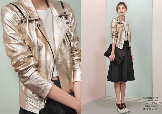 Camperas a la moda invierno 2015 Las Pepas. Moda otoño invierno 2015.