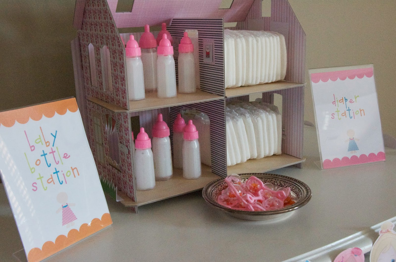 Baby Doll Birthday Decorations Image Inspiration of Cake and