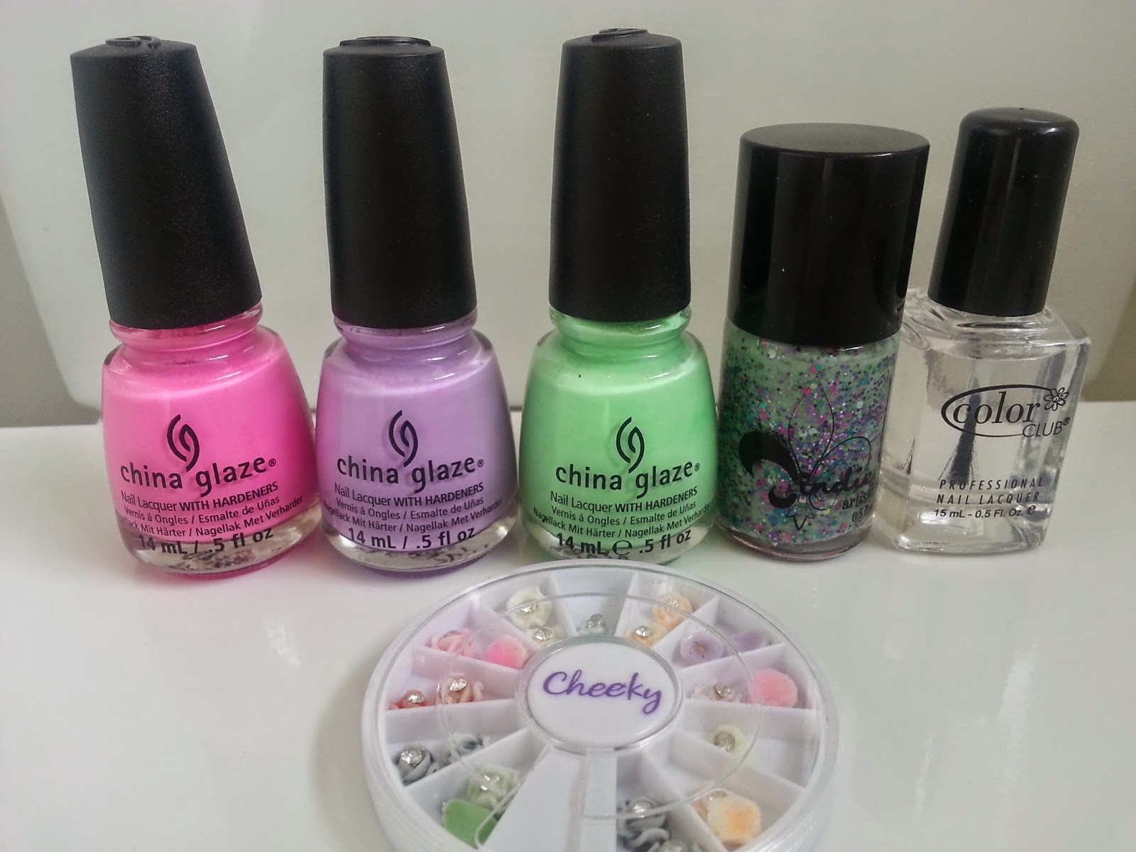 tri-polish-challenge-pink-purple-green-nails